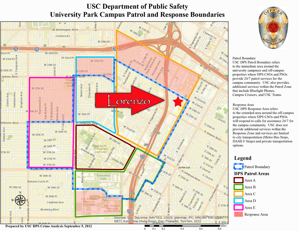 University Patrol Area thumbnail