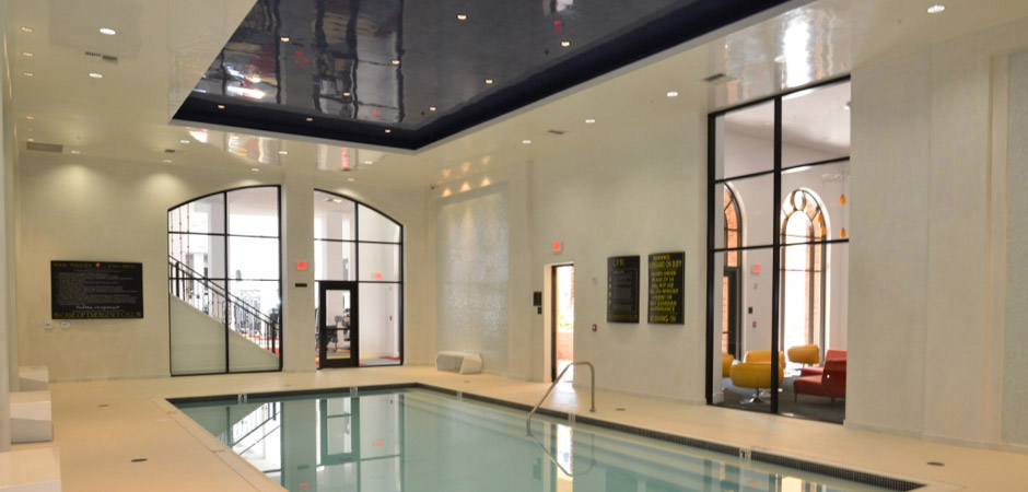 Swim A Few Laps in the Indoor Pool