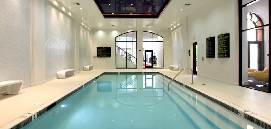 Swim Laps at the Indoor Pool